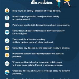 Obrazek aktualności Bezpieczny powrót do szkoły - wskazówki dla rodziców..