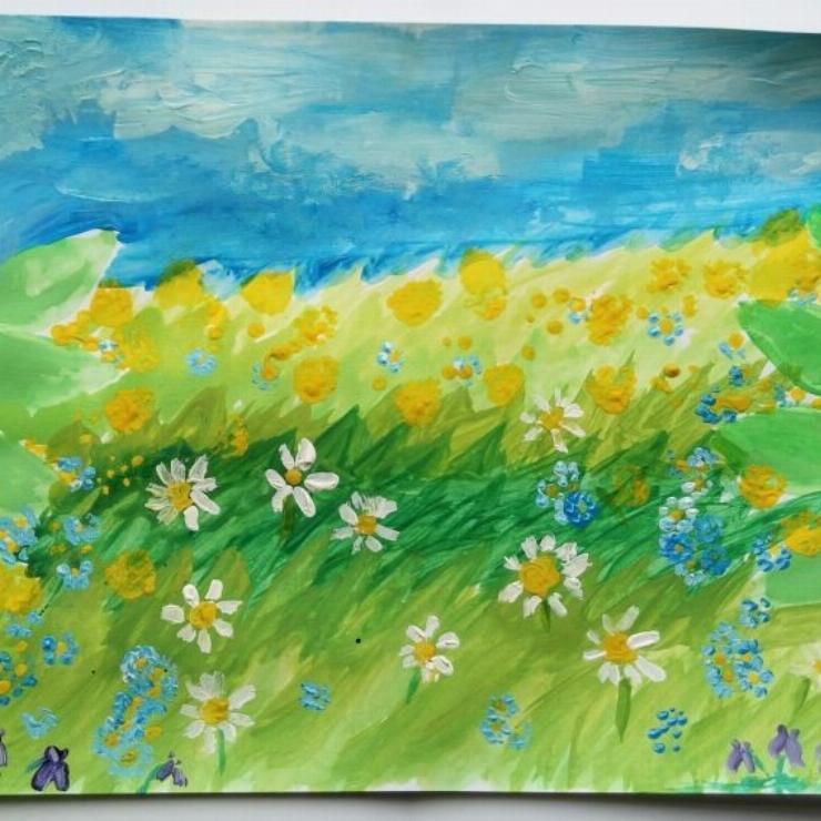 Galeria Wiosna- prace uczniów
